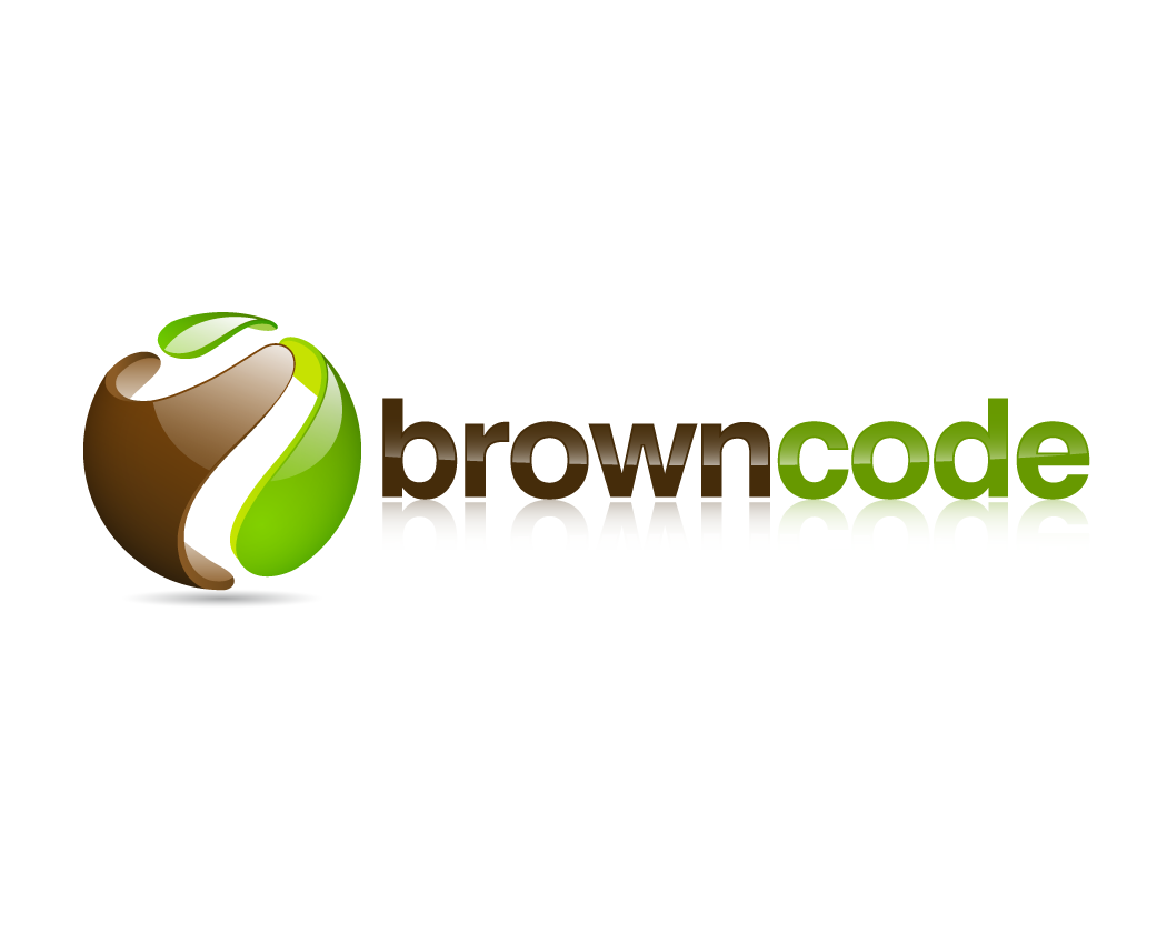 Logo Design by Keyla Dwimaharani - Entry No. 83 in the Logo Design Contest New Logo Design for Brown Code.