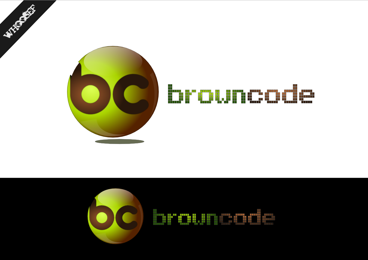 Logo Design by whoosef - Entry No. 84 in the Logo Design Contest New Logo Design for Brown Code.