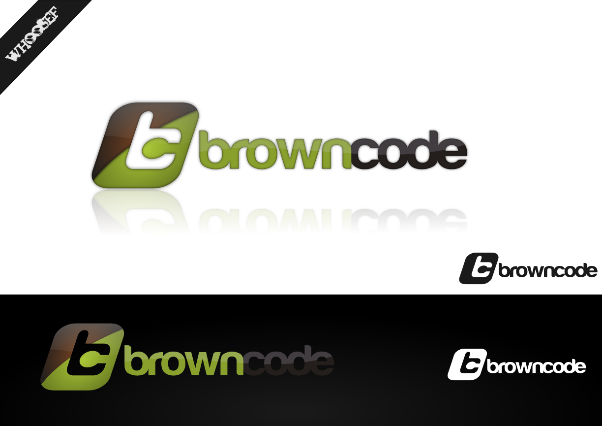 Logo Design by whoosef - Entry No. 86 in the Logo Design Contest New Logo Design for Brown Code.