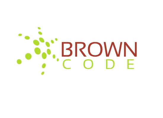 Logo Design by Raluca-Elena Ionita - Entry No. 92 in the Logo Design Contest New Logo Design for Brown Code.