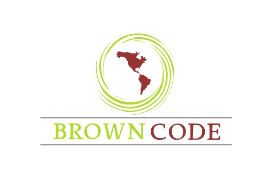 Logo Design by Raluca-Elena Ionita - Entry No. 93 in the Logo Design Contest New Logo Design for Brown Code.