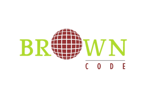 Logo Design by Raluca-Elena Ionita - Entry No. 94 in the Logo Design Contest New Logo Design for Brown Code.