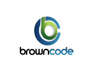 Logo Design by Muhammad Sopandi - Entry No. 102 in the Logo Design Contest New Logo Design for Brown Code.