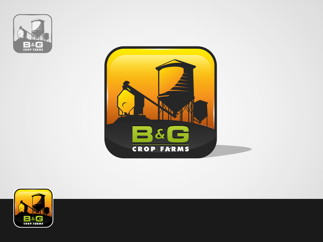 Logo Design by jpbituin - Entry No. 46 in the Logo Design Contest Artistic Logo Design for B & G Crop Farms.