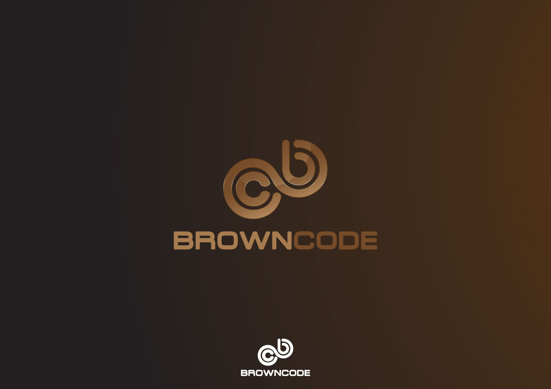 Logo Design by Nurgalih Destianto - Entry No. 104 in the Logo Design Contest New Logo Design for Brown Code.