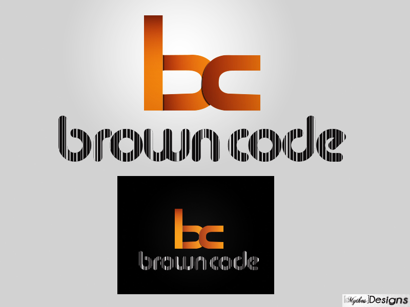 Logo Design by Mythos Designs - Entry No. 105 in the Logo Design Contest New Logo Design for Brown Code.