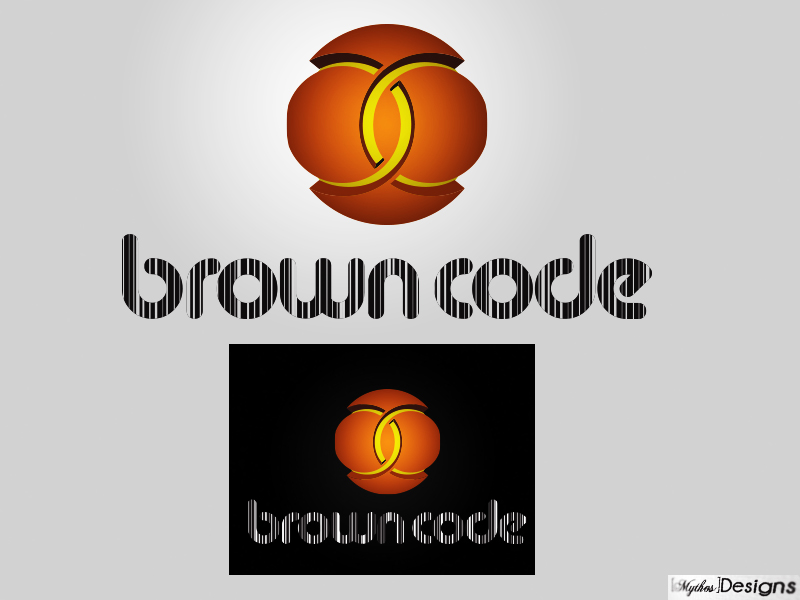 Logo Design by Mythos Designs - Entry No. 106 in the Logo Design Contest New Logo Design for Brown Code.