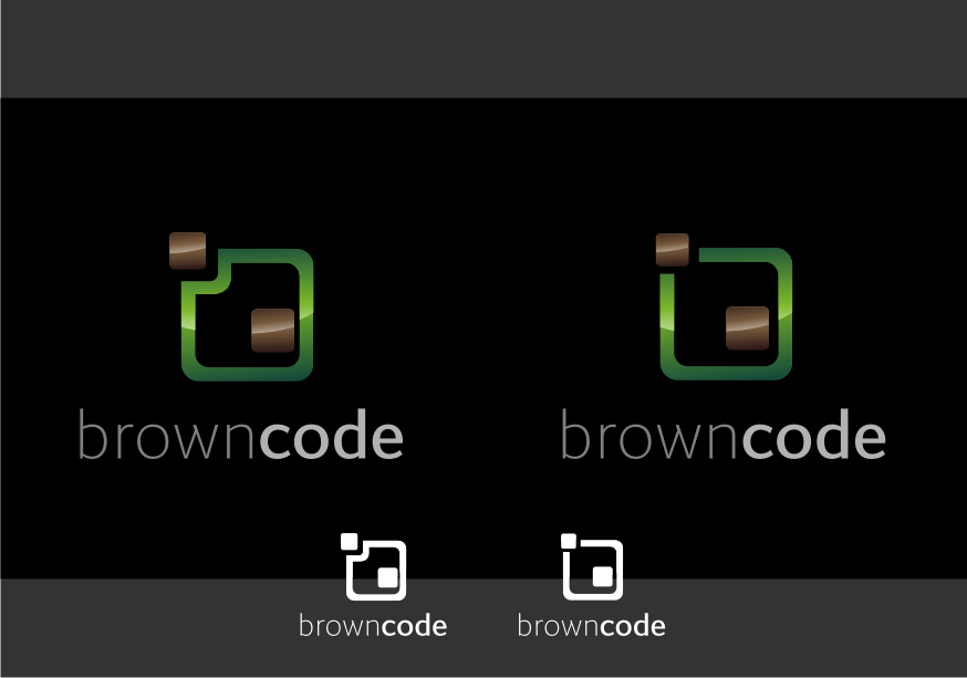 Logo Design by graphicleaf - Entry No. 111 in the Logo Design Contest New Logo Design for Brown Code.