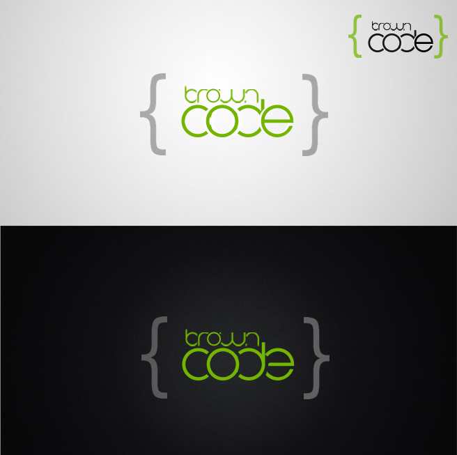 Logo Design by Lama Creative - Entry No. 125 in the Logo Design Contest New Logo Design for Brown Code.