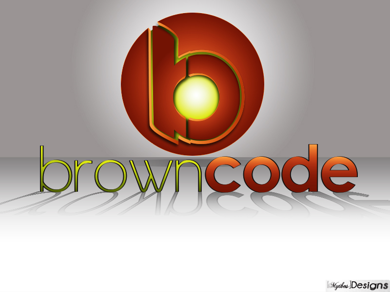 Logo Design by Mythos Designs - Entry No. 128 in the Logo Design Contest New Logo Design for Brown Code.