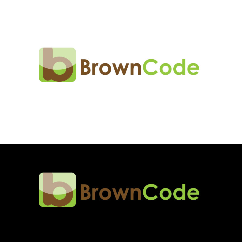 Logo Design by Private User - Entry No. 129 in the Logo Design Contest New Logo Design for Brown Code.