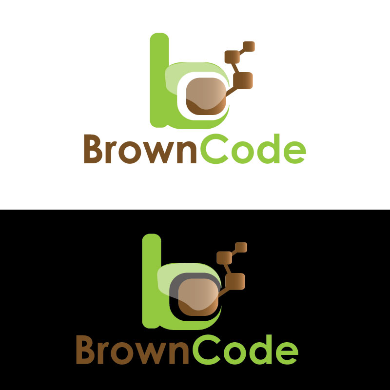 Logo Design by Private User - Entry No. 130 in the Logo Design Contest New Logo Design for Brown Code.