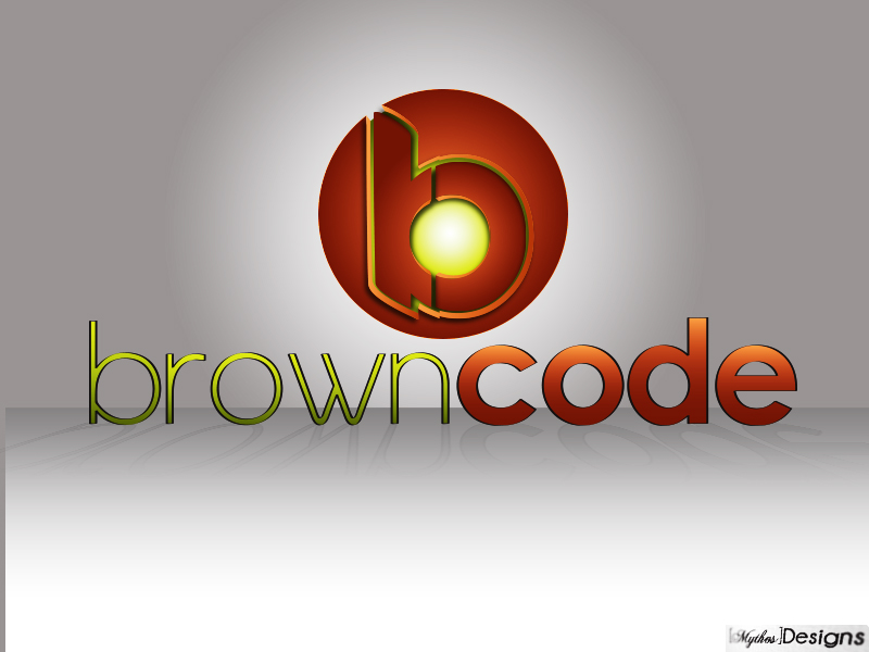 Logo Design by Mythos Designs - Entry No. 133 in the Logo Design Contest New Logo Design for Brown Code.