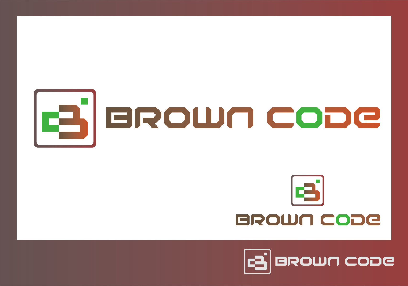 Logo Design by Ngepet_art - Entry No. 136 in the Logo Design Contest New Logo Design for Brown Code.