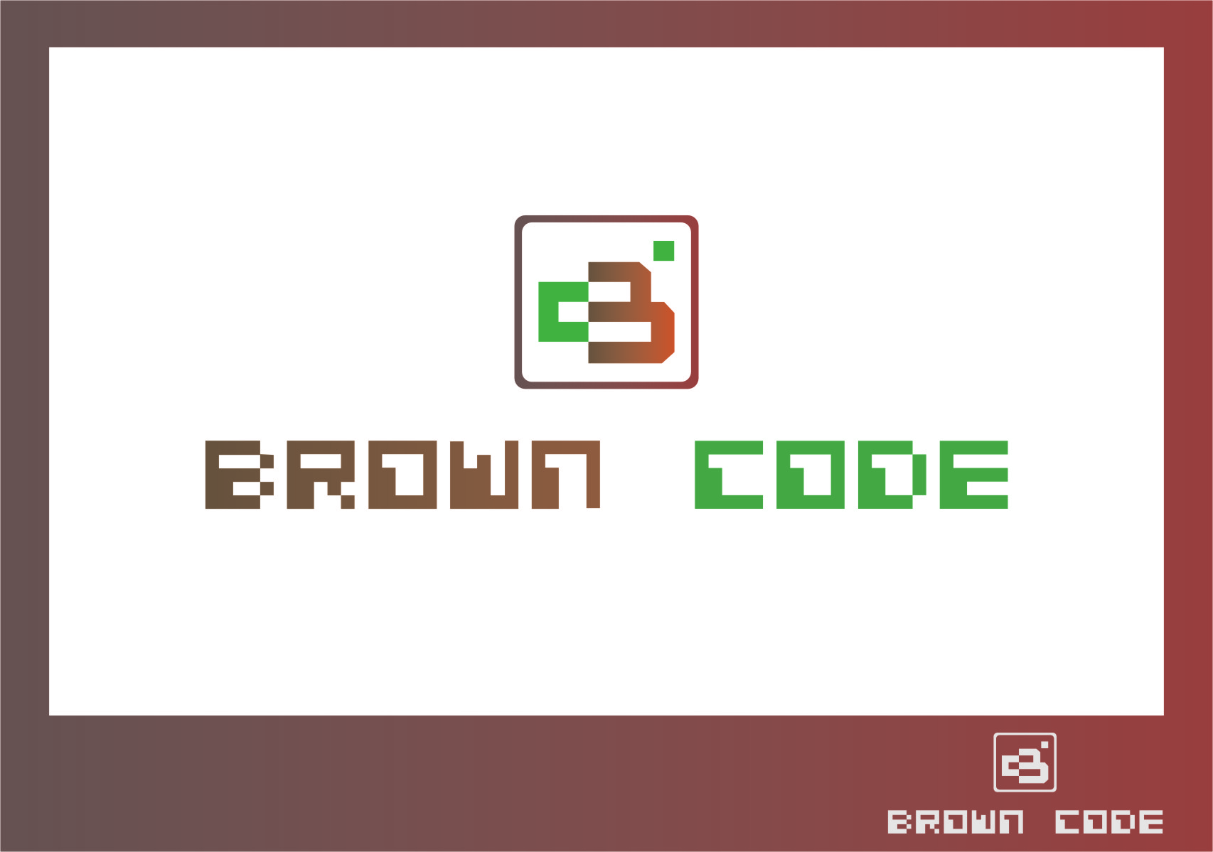 Logo Design by RasYa Muhammad Athaya - Entry No. 138 in the Logo Design Contest New Logo Design for Brown Code.