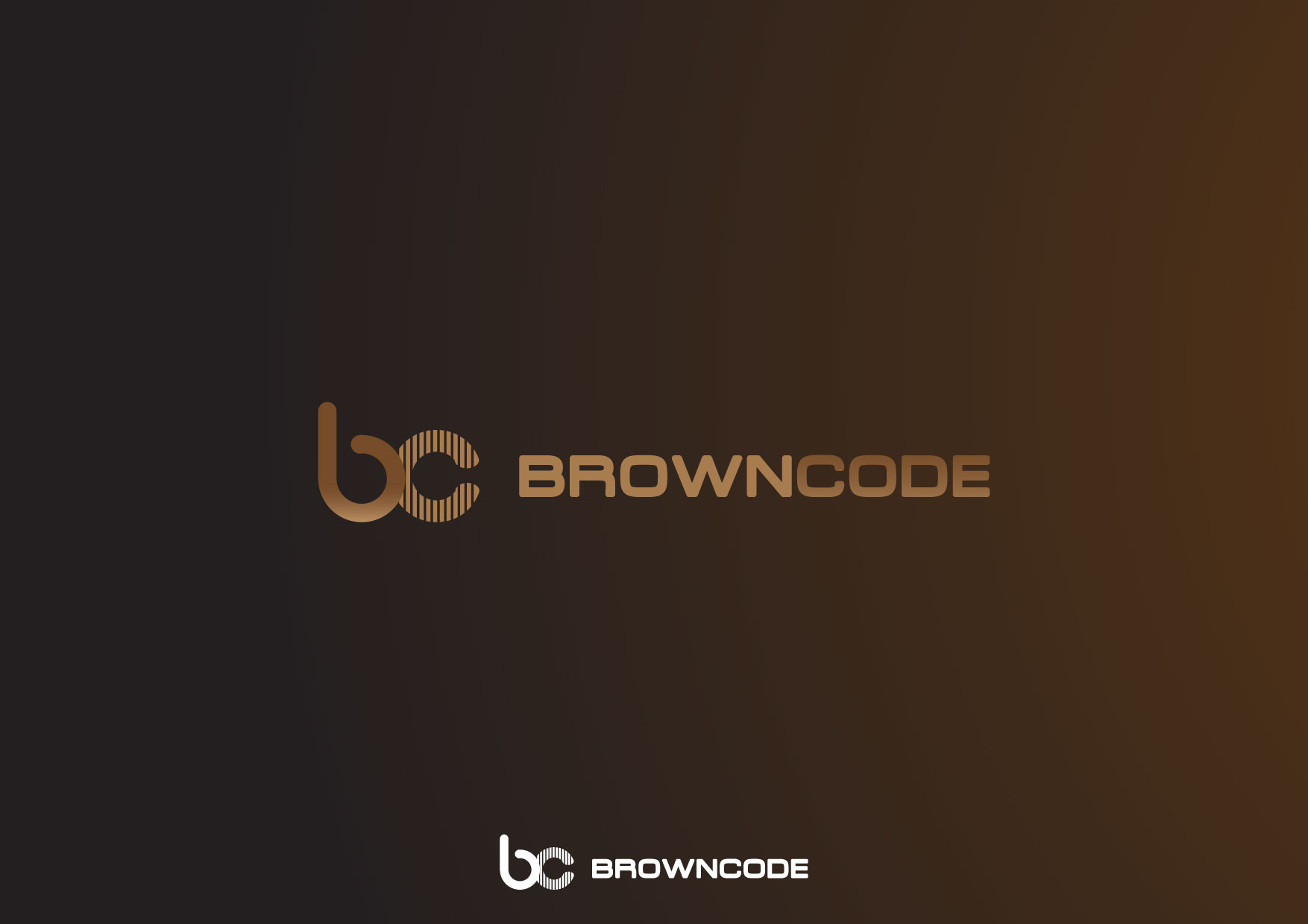 Logo Design by Nurgalih Destianto - Entry No. 140 in the Logo Design Contest New Logo Design for Brown Code.