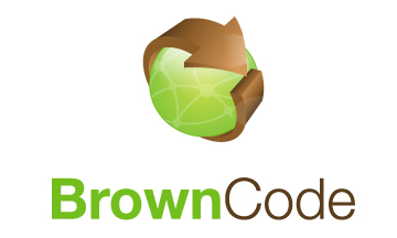 Logo Design by Mobin Asghar - Entry No. 142 in the Logo Design Contest New Logo Design for Brown Code.