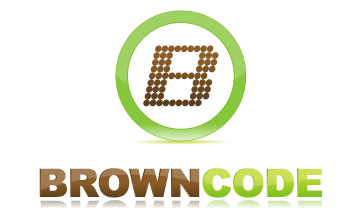 Logo Design by Mobin Asghar - Entry No. 143 in the Logo Design Contest New Logo Design for Brown Code.