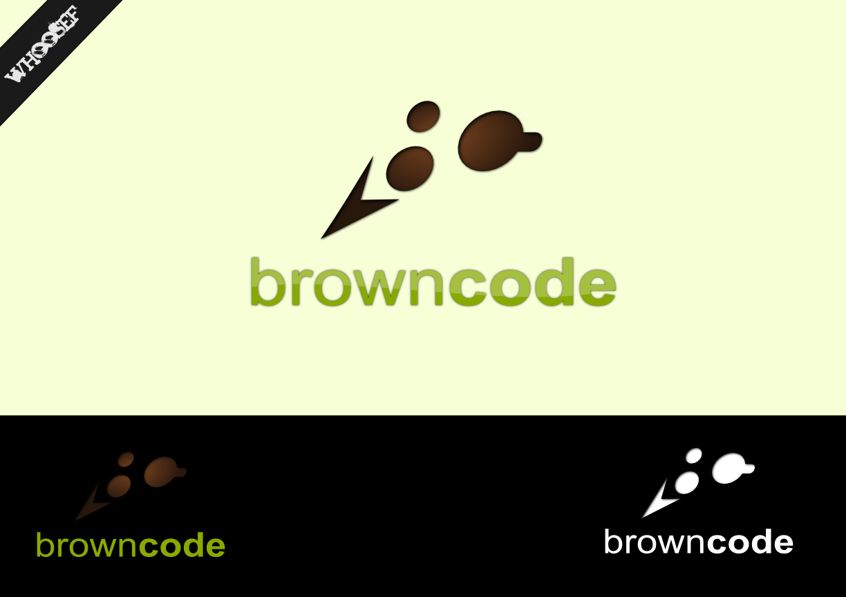Logo Design by whoosef - Entry No. 145 in the Logo Design Contest New Logo Design for Brown Code.
