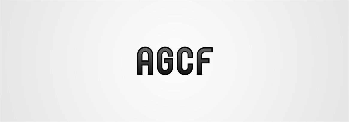 Logo Design by Private User - Entry No. 86 in the Logo Design Contest Imaginative Logo Design for AGCF.