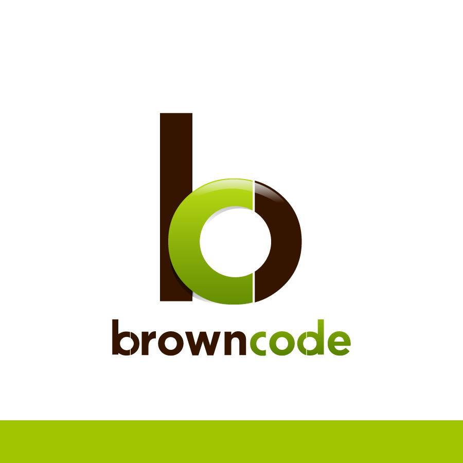 Logo Design by Edward Goodwin - Entry No. 146 in the Logo Design Contest New Logo Design for Brown Code.
