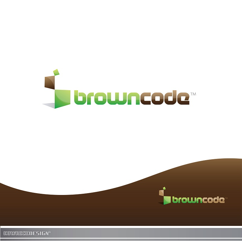 Logo Design by kowreck - Entry No. 147 in the Logo Design Contest New Logo Design for Brown Code.