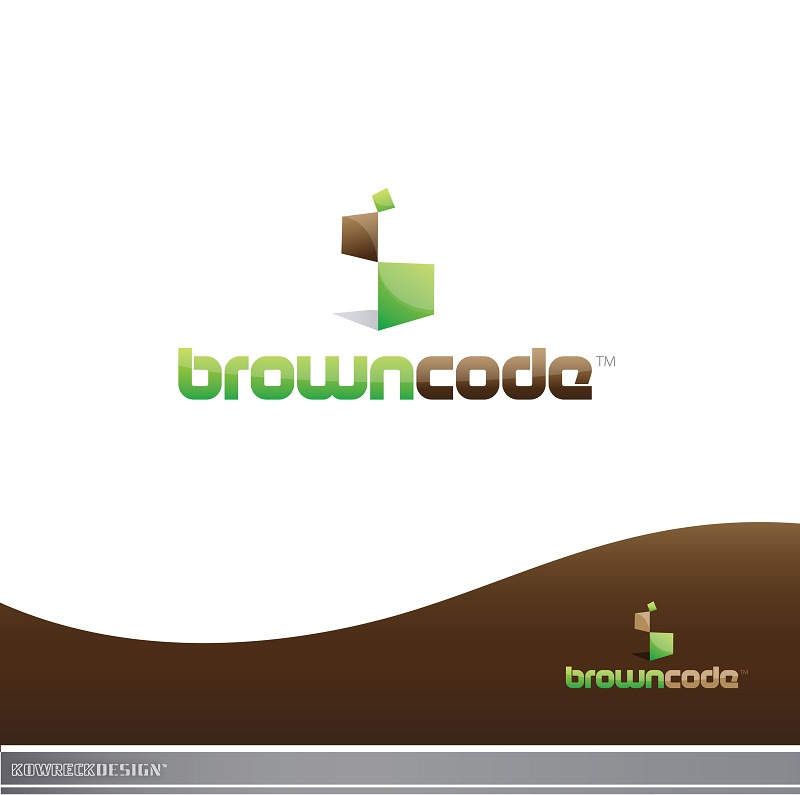 Logo Design by kowreck - Entry No. 148 in the Logo Design Contest New Logo Design for Brown Code.