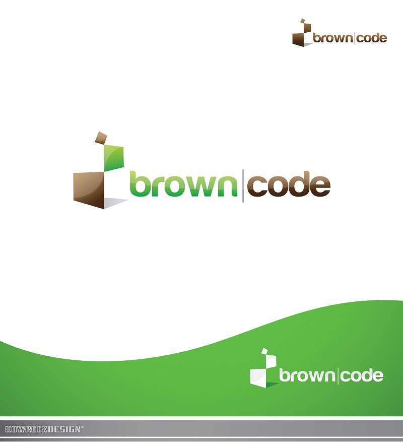 Logo Design by kowreck - Entry No. 149 in the Logo Design Contest New Logo Design for Brown Code.