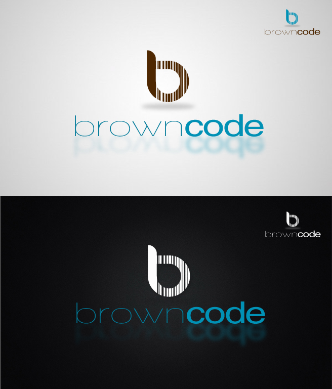 Logo Design by Lama Creative - Entry No. 150 in the Logo Design Contest New Logo Design for Brown Code.