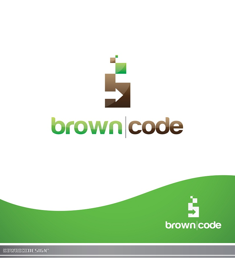Logo Design by kowreck - Entry No. 151 in the Logo Design Contest New Logo Design for Brown Code.