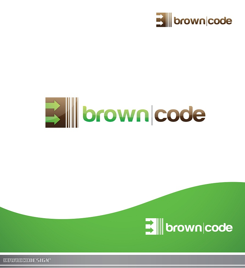 Logo Design by kowreck - Entry No. 152 in the Logo Design Contest New Logo Design for Brown Code.