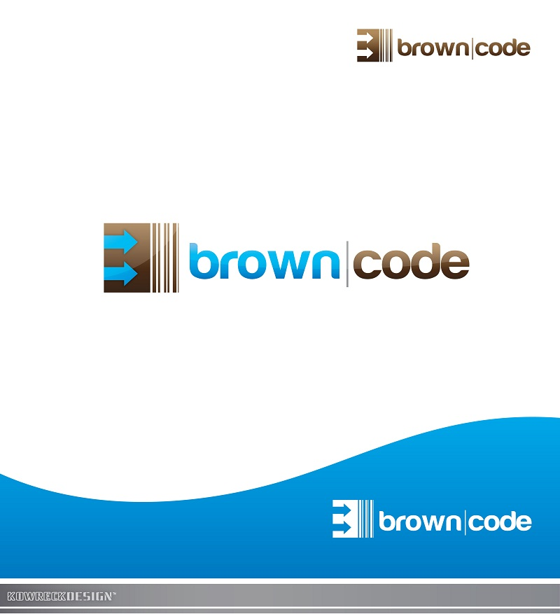 Logo Design by kowreck - Entry No. 153 in the Logo Design Contest New Logo Design for Brown Code.