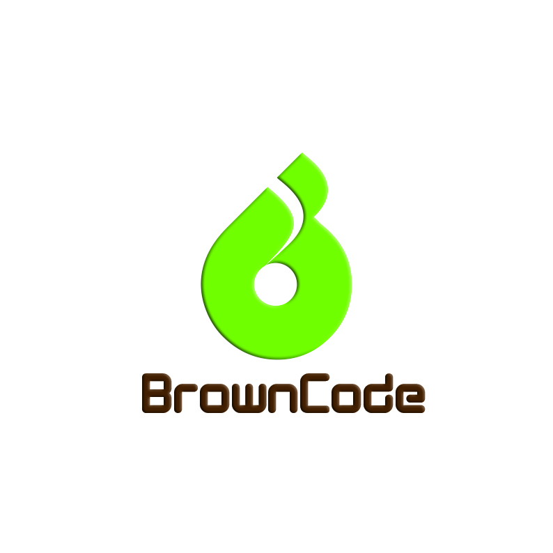 Logo Design by Tyas Satriytya - Entry No. 158 in the Logo Design Contest New Logo Design for Brown Code.
