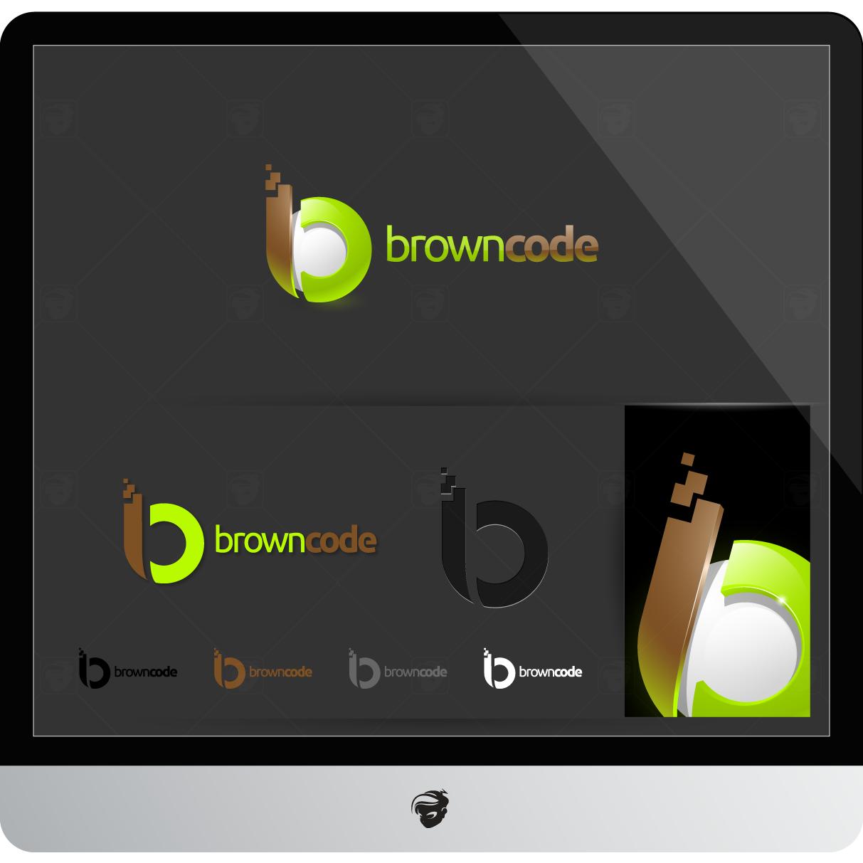 Logo Design by zesthar - Entry No. 161 in the Logo Design Contest New Logo Design for Brown Code.