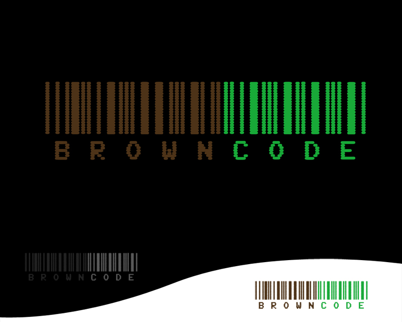 Logo Design by Private User - Entry No. 166 in the Logo Design Contest New Logo Design for Brown Code.