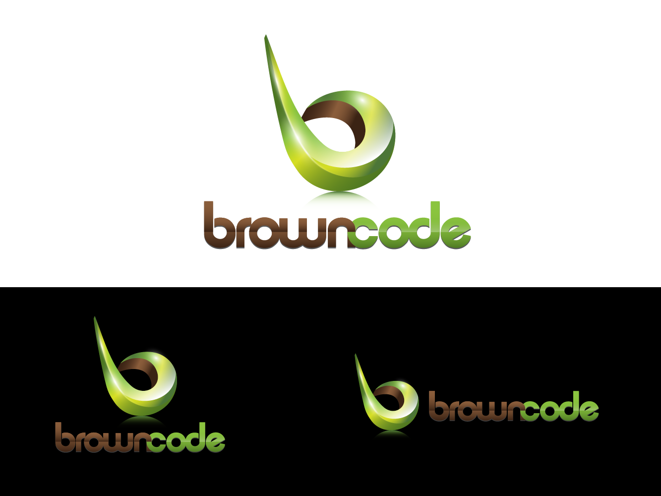 Logo Design by vwArt - Entry No. 167 in the Logo Design Contest New Logo Design for Brown Code.