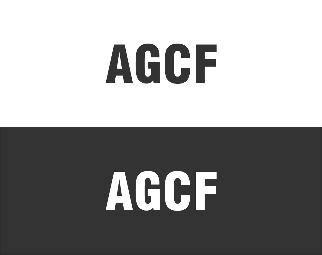 Logo Design by haidu - Entry No. 118 in the Logo Design Contest Imaginative Logo Design for AGCF.