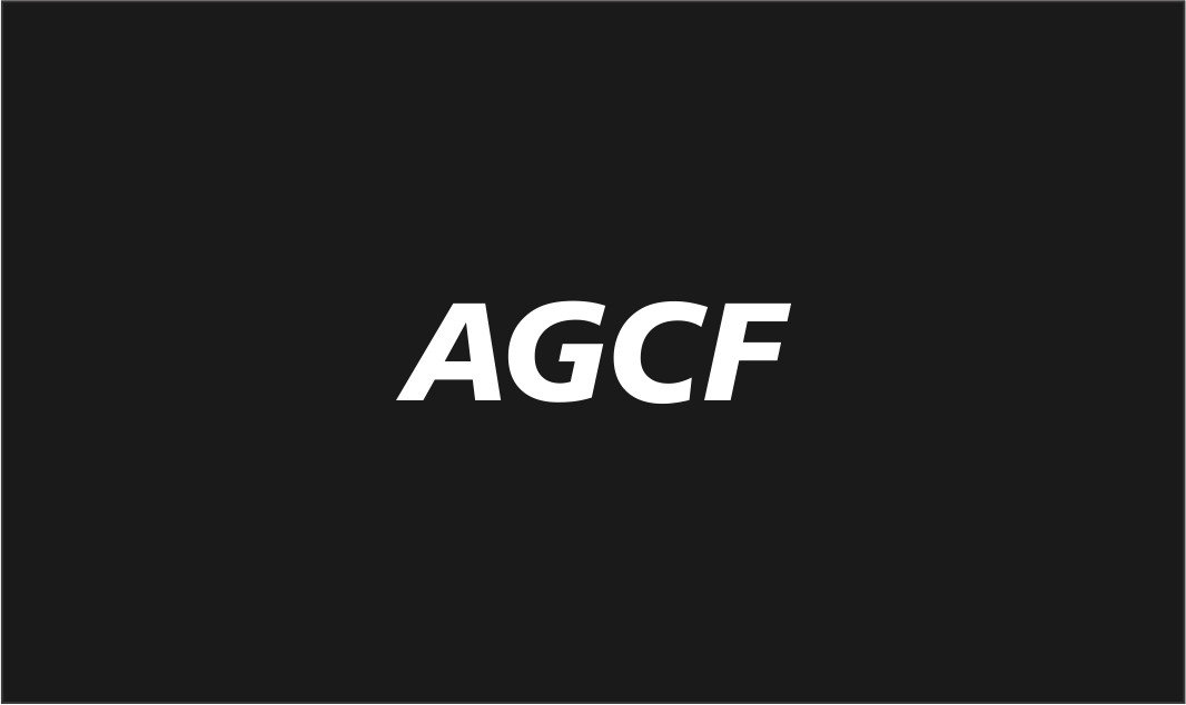 Logo Design by haidu - Entry No. 119 in the Logo Design Contest Imaginative Logo Design for AGCF.