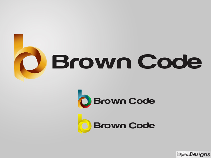 Logo Design by Mythos Designs - Entry No. 168 in the Logo Design Contest New Logo Design for Brown Code.