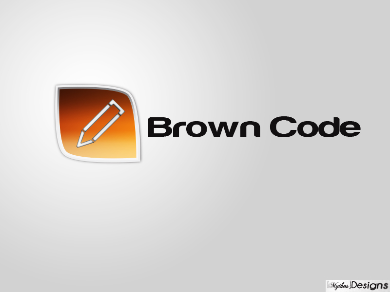 Logo Design by Mythos Designs - Entry No. 170 in the Logo Design Contest New Logo Design for Brown Code.