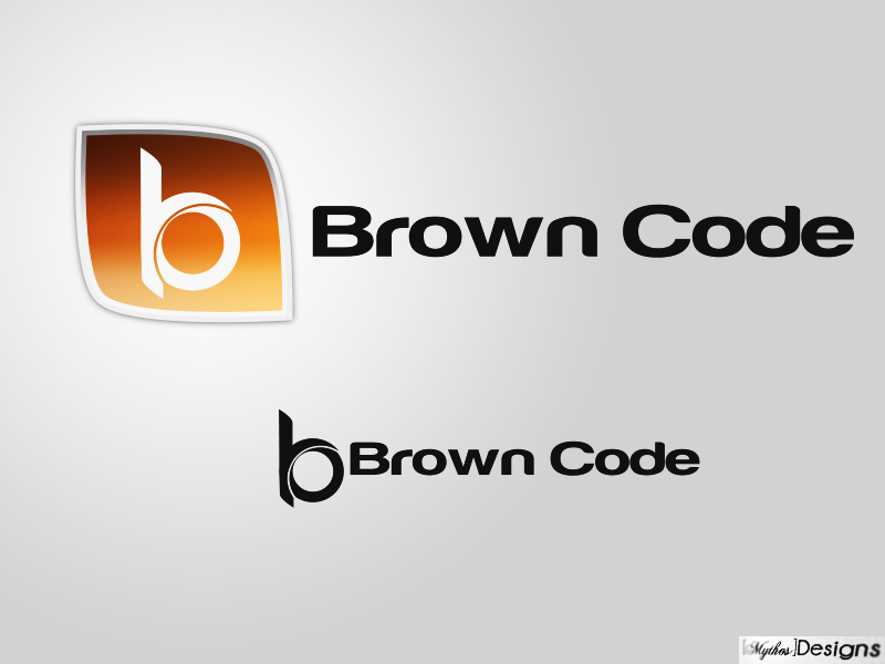 Logo Design by Mythos Designs - Entry No. 171 in the Logo Design Contest New Logo Design for Brown Code.