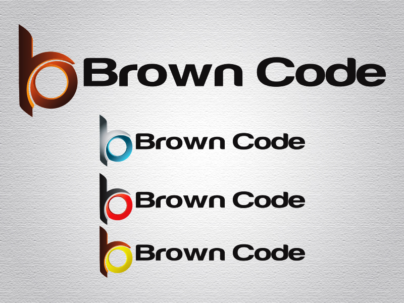 Logo Design by Mythos Designs - Entry No. 173 in the Logo Design Contest New Logo Design for Brown Code.