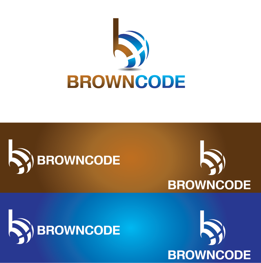 Logo Design by Private User - Entry No. 177 in the Logo Design Contest New Logo Design for Brown Code.