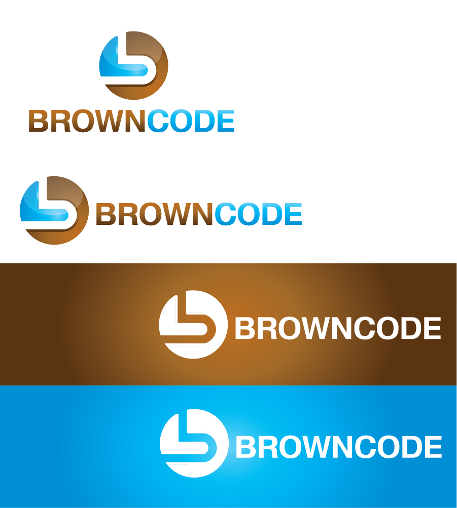 Logo Design by Private User - Entry No. 179 in the Logo Design Contest New Logo Design for Brown Code.