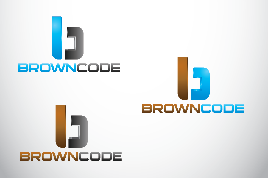 Logo Design by Private User - Entry No. 180 in the Logo Design Contest New Logo Design for Brown Code.