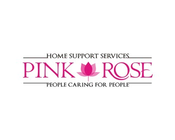 Logo Design by key - Entry No. 75 in the Logo Design Contest Pink Rose Home Support Services.