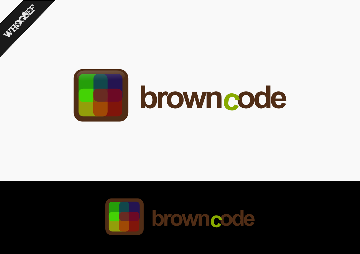 Logo Design by whoosef - Entry No. 182 in the Logo Design Contest New Logo Design for Brown Code.