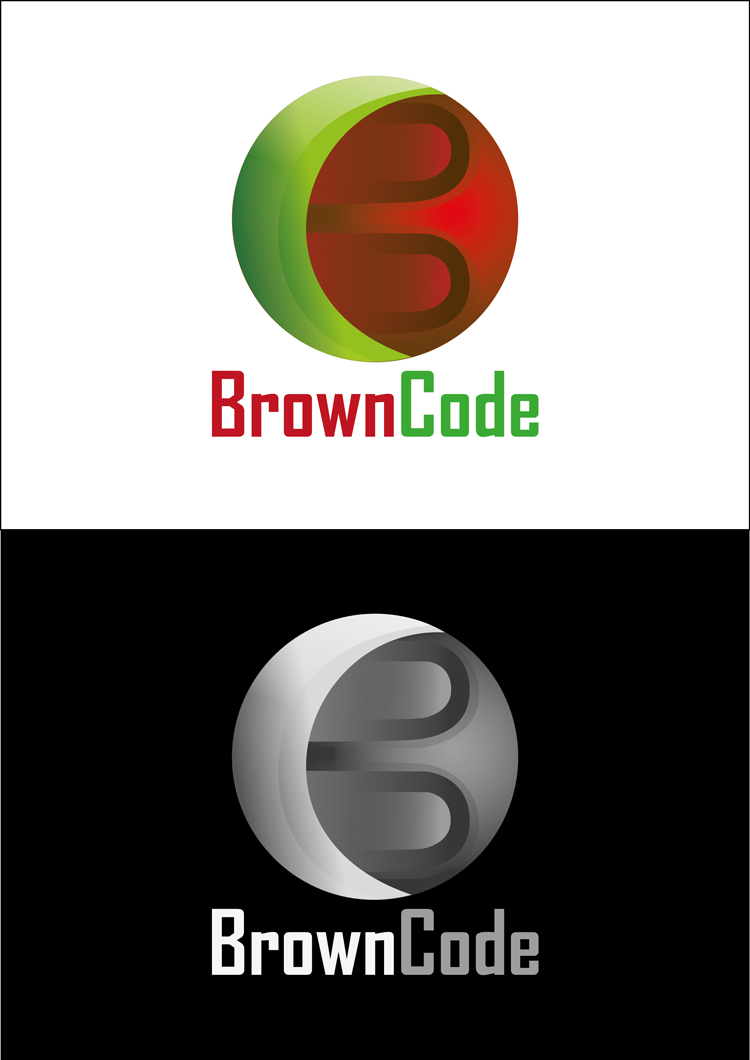 Logo Design by Arun Prasad - Entry No. 185 in the Logo Design Contest New Logo Design for Brown Code.