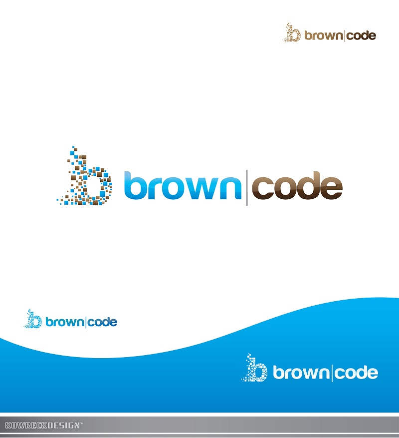 Logo Design by kowreck - Entry No. 192 in the Logo Design Contest New Logo Design for Brown Code.