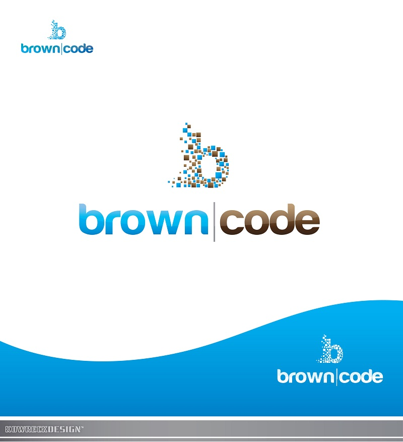 Logo Design by kowreck - Entry No. 194 in the Logo Design Contest New Logo Design for Brown Code.